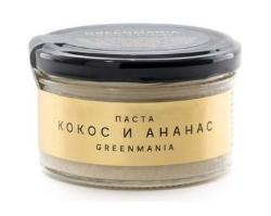 Паста кокос и ананас GreenMania (150 г)