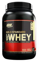 Протеин Optimum Nutrition 100 % Whey protein Gold standard 2 lb Клубника-банан (907 г)