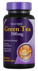 Natrol Green Tea 500 мг (60 таб )